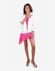 White Sequined Stilettos Jacket