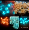 LED Rose Rice Light for Diwali Decoration