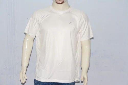 Plain Polyester Round Neck T Shirts