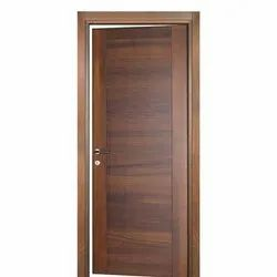 Laminated Brown Exterior Wooden Flush Doors, Size/Dimension: 7 X 3.5 Feet