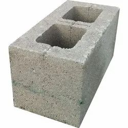 Gray Concrete Hollow Blocks, Size: 12 In. X 4 In. X 2 In., for Partition Walls