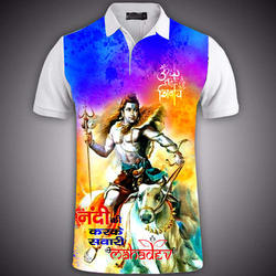 Polyester T-Shirt Sublimation Printing Service