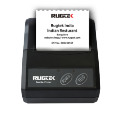 Rugtek BP02 Mobile Receipt Printer