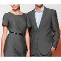 Grey Cotton Corporate Uniforms, For Office, Size: Medium