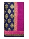 Cotton Silk Golden Zari Work Saree