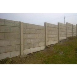 RCC Concrete Compound Wall