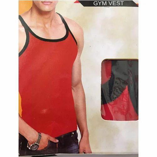 b6b3ca53832 Cotton Mens Gym Vest