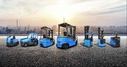 BYD Li-Ion Forklift MHE Reach Truck