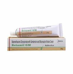 Betamil GM Cream (Betamethasone+Gentamicin+Miconazole)