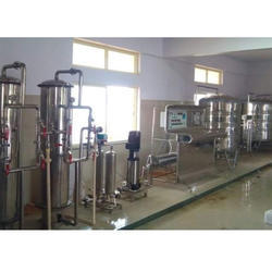 Commercial Water Filter Plant