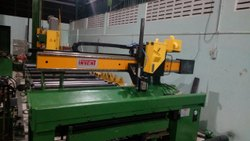 Mild Steel Saw Welding Machine, For Industrial, Automation Grade: Semi-Automatic