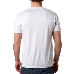 Plain White Basic Round Neck T Shirt