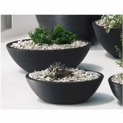 Colored Oval Planter