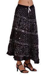 Festival Bandhej Skirt