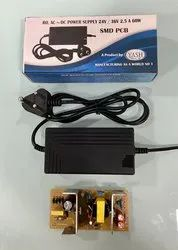 YASH 60W RO SMPS ADAPTER, Applicable Industry: Home Appliances, Input Voltage: 220v Ac