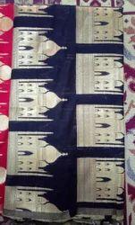 Jacquard Bright Katan Silk Fabric, Use: Garments