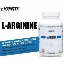 Monster L-Arginine Dietary Supplement, Packaging Size: 100gm , packaging Type: Plastic Container