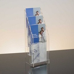 Acrylic Brochure Holder in A5 Size (Imported Material)