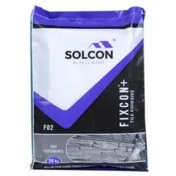 FIXCON+ Cementitious FIXCON PLUS Vitrified Tile Adhesive, Packaging Type: Bag, Packaging Size: 20Kg