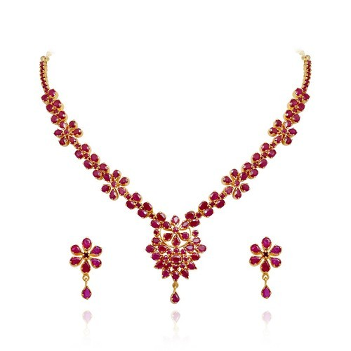 ea44002d81759 Ruby Necklaces Jewellery Sets