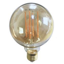 Aluminium and Glass Decorative LED Bulb, Voltage: 10 V