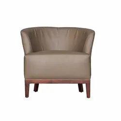 Fonzel Grey Heliodor Lounge Chair
