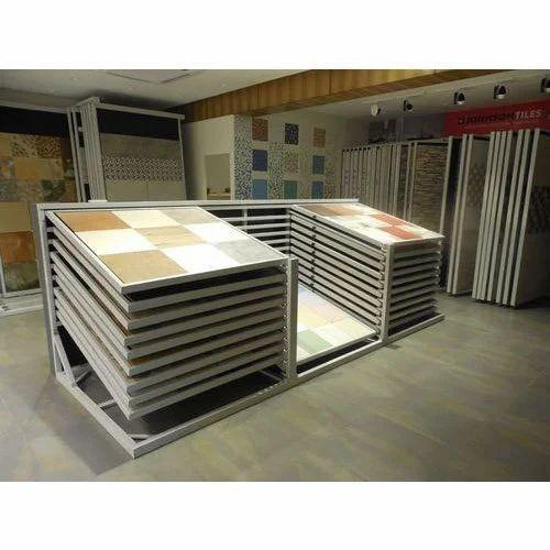 Floor Tile Display Rack At Rs 60000