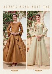 Designer Salwar Suit Parra Studio New Concept With Gown Style