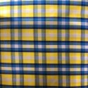 Polyester Check Shirting Fabric