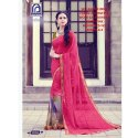 Rachna Georgette Shakira Catalog Saree Set For Woman 6