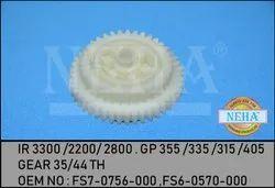 Gear 35/44 TH  IR 3300 /2200/ 2800 . GP 355 /335 /315 /405   OEM NO : FS7-0756-000 ,FS6-0570-000