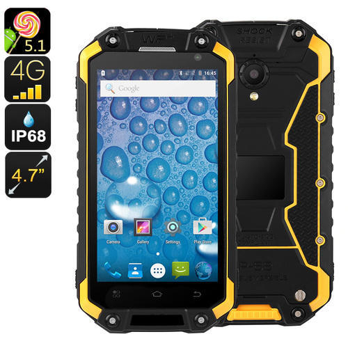 Jeasung Rugged Android Smart Phone 4g Yellow