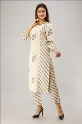 Viscose Office Wear  Color Kurtis with Palazzo