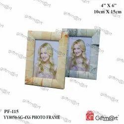 Giftmart Synthetic Fiber PF-YY8050-SG Photo Frame