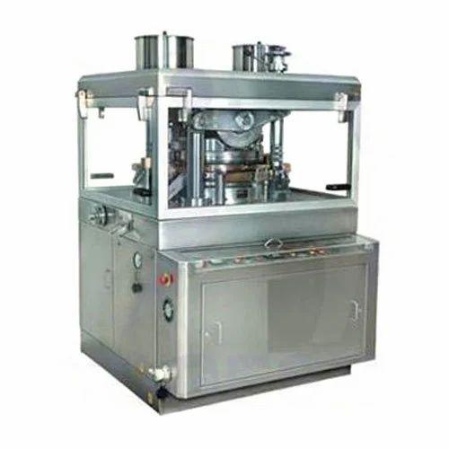 Double Rotary Press Machine, Rotary Tablet Press, रोटरी टैबलेट प्रेस मशीन -  Vaishno Pharma Machinery, Baddi   ID: 18788852333
