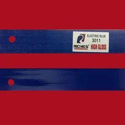 Electric Blue High Gloss Edge Band Tape