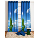 Polyester Printed Designer Curtain