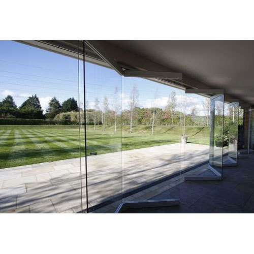 Saint Gobain Folding Glass Door Rs 25000 Piece Door Glass Planner