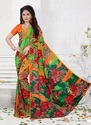 Ladies Wear Soft Crepe Saree