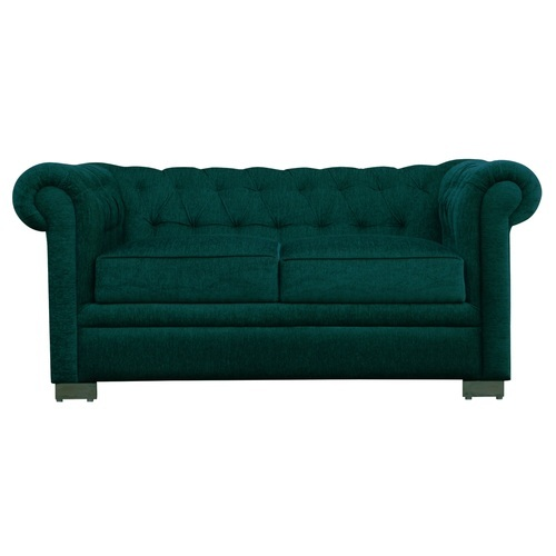 Mubell Marshall Grand Turquoise Chesterfield Sofa Two Seater