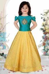 Female Phantom Silk Kids Gown