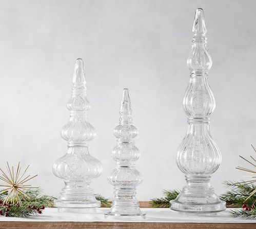 Clear Glass Finials At Rs 150 Piece Curtain Rod End Parde Ke
