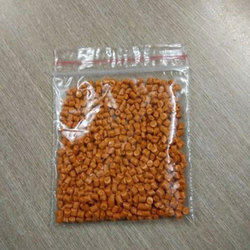 PP/PE Orange Plastic Scrape Granules