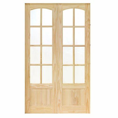 Teak Wood Exterior Door Frame Rs 550 Square Feet Mannat Timber
