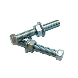 SS Bolt and Nut, Size: 2mm