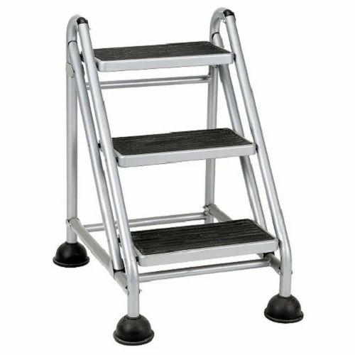 Aluminium Step Ladder - Wide Platform Step Ladder
