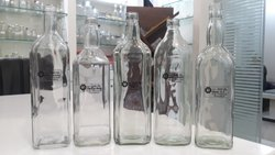 Transparent Flint Glass Bottle, Size: 90ml-1000ml