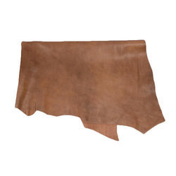 Goat Leather Plain Goat Metallic Leather, For Making Sandal, Packaging Type: Roll