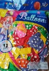 Polka Dot Birthday Balloons
