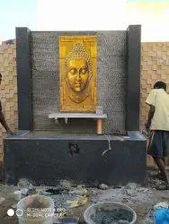 outdoor buddha wall poster